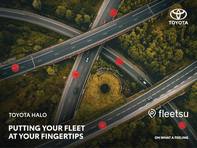 Toyota partner with Fleetsu to offer Connected Fleet Management Solution